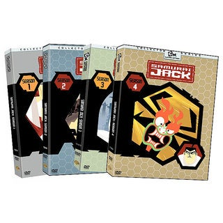 Samurai Jack: Complete Seasons 1-4 (DVD)