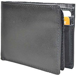 Romano Men's Italian Leather Flip-up Billfold