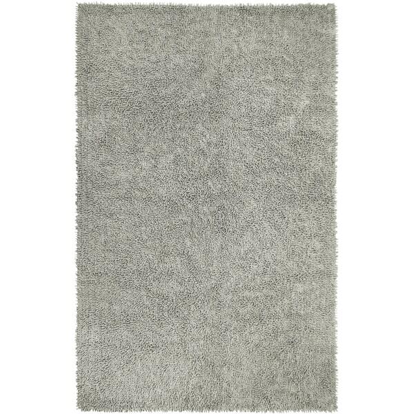Grey Chenille Shag Rug (4' x 6')