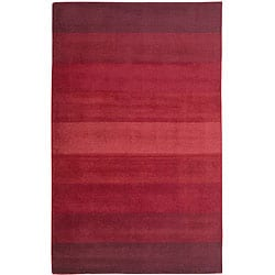Red Stripes Rug (5' x 8')