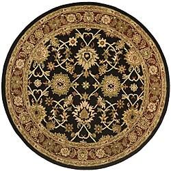 Elite Kashan Wool Rug (8' Round)