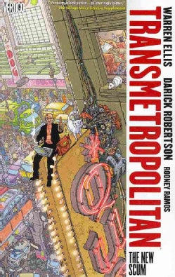 Transmetropolitan 4: The New Scum (Paperback)