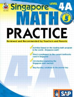 Singapore Math Practice: Level 4a (Paperback)