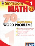 Singapore Math 70 Must-Know Word Problems, Level 1 (Paperback)