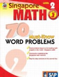 Singapore Math 70 Must-Know Word Problems, Level 2 (Paperback)