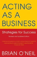 Acting As a Business: Strategies for Success (Paperback)