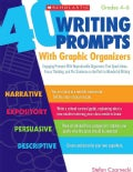 40 Writing Prompts With Graphic Organizers (Paperback)