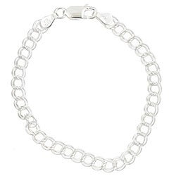 Sterling Essentials Sterling Silver 6-inch Child's Charm Bracelet