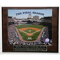 Yankee Stadium the Final Season Picture Plaque