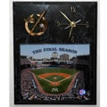 Yankee Stadium Final Season Picture Clock Plaque