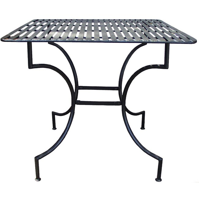 Iron Square or Round Patio Table