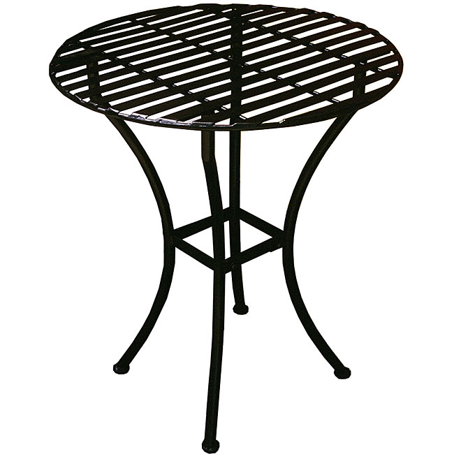 Bistro Round Table - Black