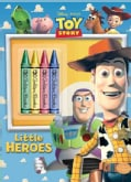 Little Heroes: Color Plus Chunky Crayons (Paperback)