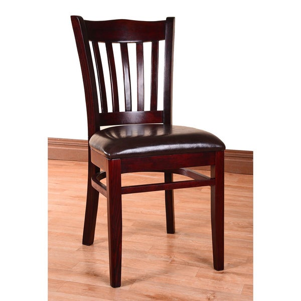 Hybrid Upholstered Wood Side Chairs (Set of 2)