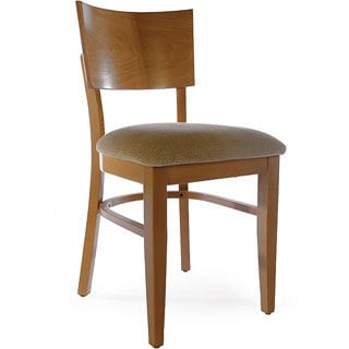 Chicago Brown/ Wheat Beechwood Chair (Set of 2)