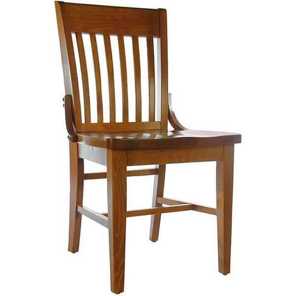 School House Dark Mahogany Side Chair (Set of 2)