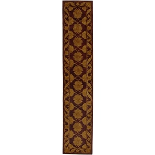 Safavieh Handmade Heritage Mahal Red Wool Runner (2'3 x 14')