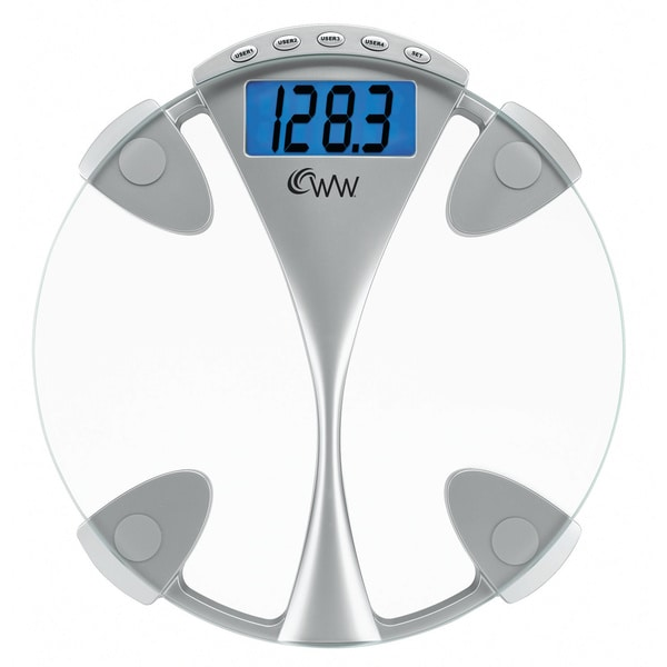 Weight Watchers Glass Memory Precision Scale WW43D
