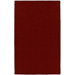 Hard-twist Red Rug (8' x 10'6)