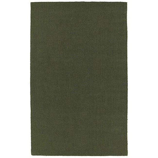Hard Twist Green Rug (8' x 10'6)