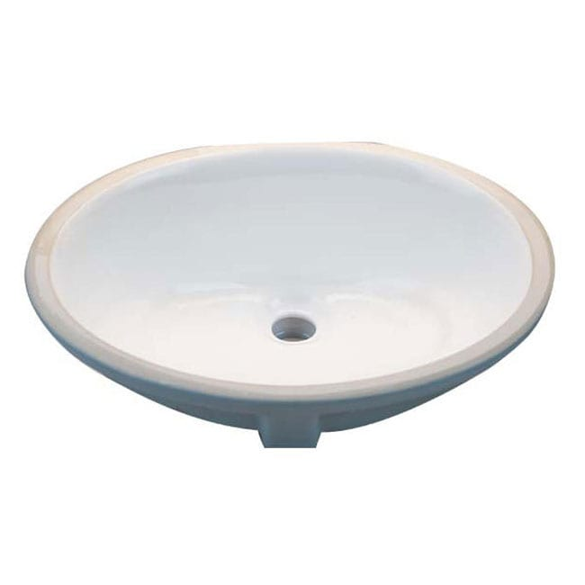 White Undermount Sink : Share: