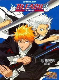 Bleach Box Set 3: The Rescue (Uncut) (DVD)