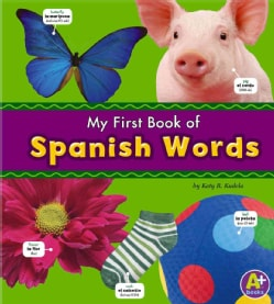 My First Book of Spanish Words (Paperback)