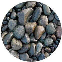 River Rocks Deluxe Antimicrobial Mouse Pad
