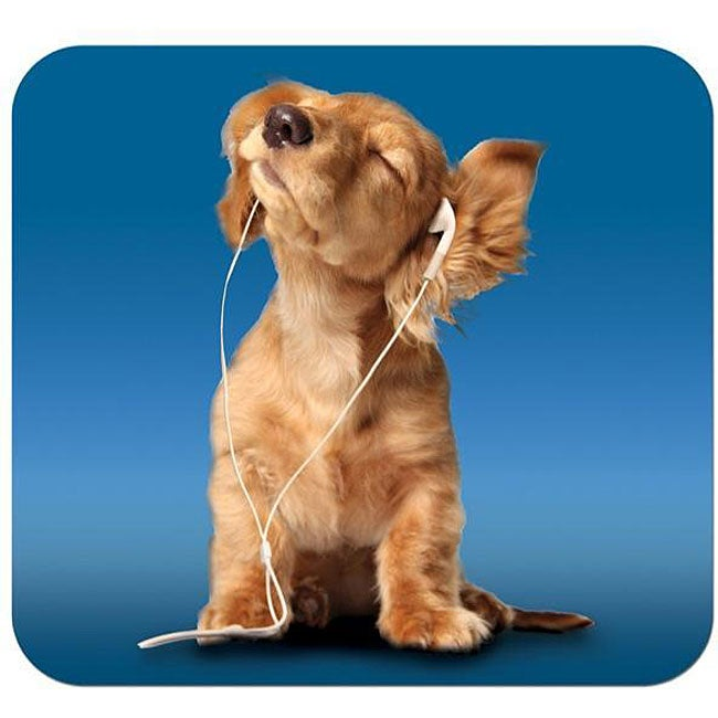 'iPod Dog' Deluxe Antimicrobial Mouse Pad
