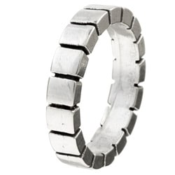 Kabella Gerald David Bauman Oxidized Silver Block Band