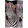Canvas Double-sided Elephant/ Zebra Room Divider (China)