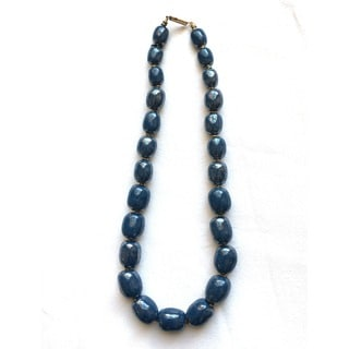 Mother of Pearl Mini-charleston Kazuri Necklace (Kenya)