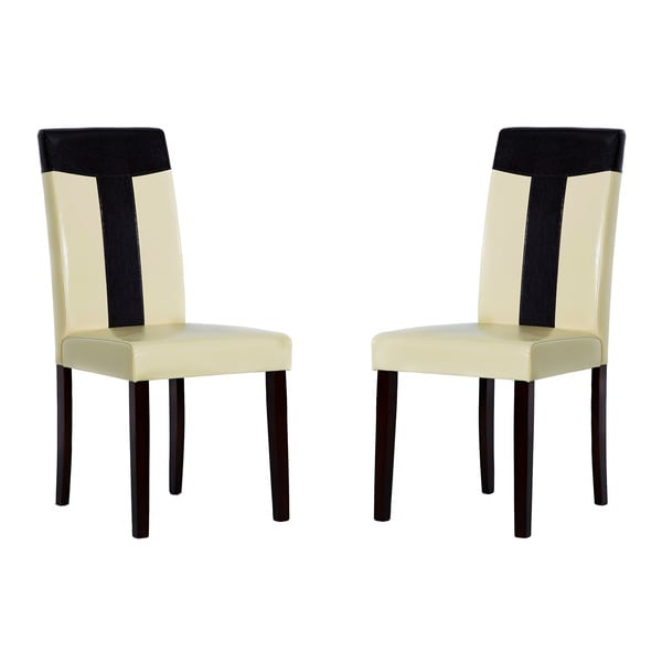 Tiffany Bi-cast Leather Chairs (Set of 4)