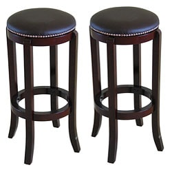 North Canyon Polished Cherry Bar Stool (Set of 2)