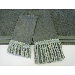 Sherry Kline Curly Bullion 3-piece Decorative Towels