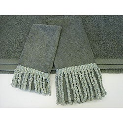 Sherry Kline Curly Bullion Decorative 3-piece Towel Set