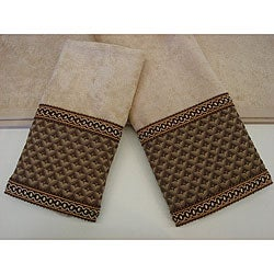 Sherry Kline Jubilee Decorative  3-piece Towel Set