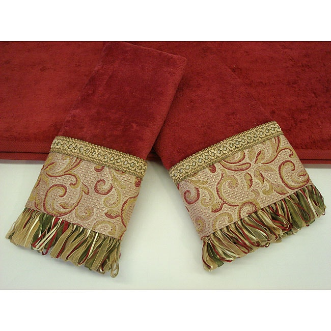 Sherry Kline Swirl Paisley Decorative 3-piece Towel Set