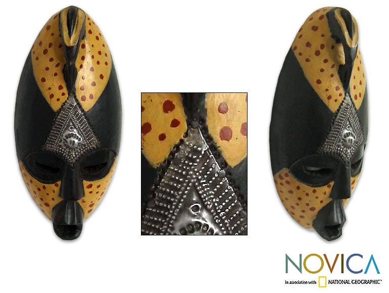 Ghanaian 'Harvest Dance' Mask (Ghana)