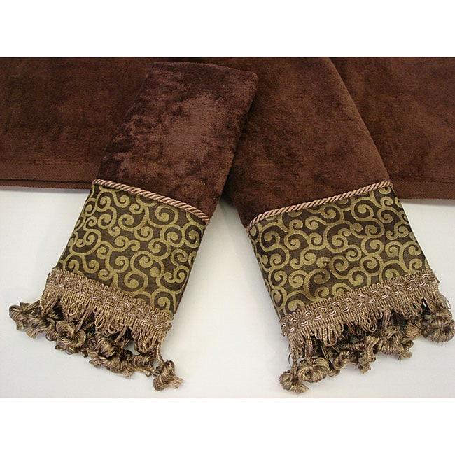 Sherry Kline Waldorf Swirl Decorative 3-piece Towel Set