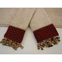 Sherry Kline Antoinette 3-piece Decorative Towel Set