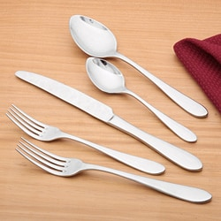 Ginkgo Linden 20-piece Flatware Set