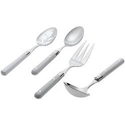 Ginkgo Le Prix White 4-piece Hostess Set