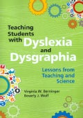 Teaching Students With Dyslexia and Dysgraphia: Lessons from Teaching and Science (Paperback)