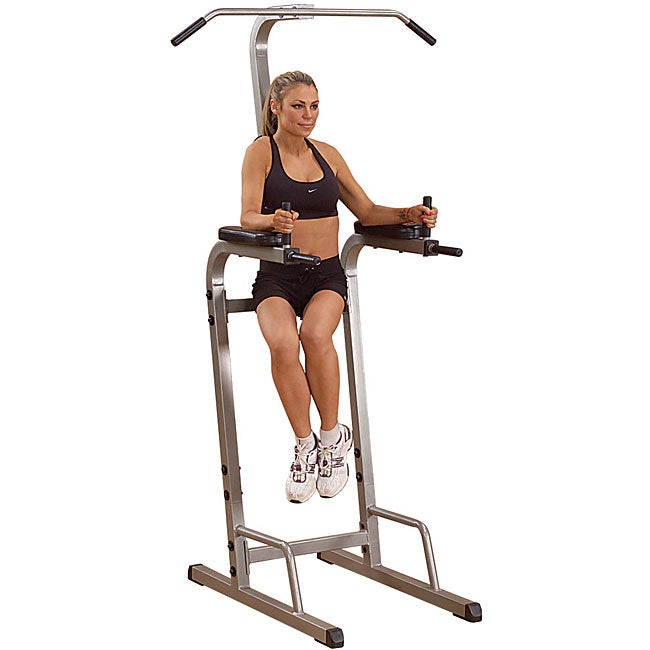 Best Fitness Vertical Knee Raise/ Chin Dip Station