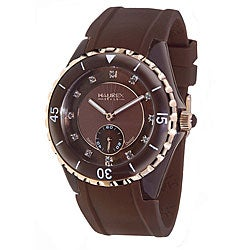 Haurex Italy Women's Riviera Brown Mother of Pearl Watch Model # 1M337DMH