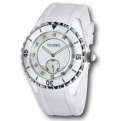 Haurex Italy Women's Riviera White Mother of Pearl Dial Watch