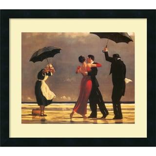 Jack Vettriano 'The Singing Butler' Framed Art Print with Satin-Black Laminate Frame