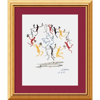 Pablo Picasso 'Dance of Youth' Framed Art Print