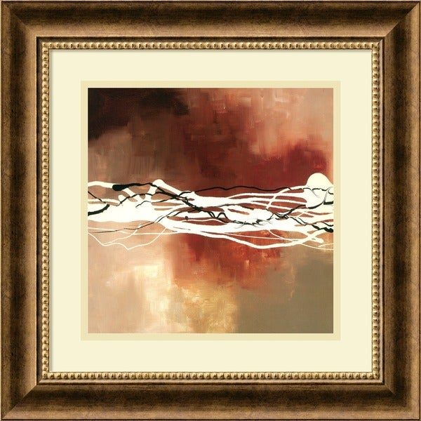 Laurie Maitland 'Copper Melody I' Framed Art Print